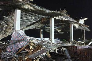 Hải Phòng: Sập giàn giáo công trình xây dựng trái phép, 8 người thương vong