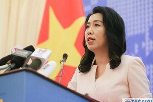 Nhóm tàu Hải Dương 8 đã rời khỏi vùng đặc quyền kinh tế và thềm lục địa của Việt Nam