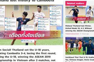 Báo châu Á châm biếm Thái Lan sau trận thua trước Campuchia