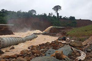 Thêm một thủy điện gặp sự cố, phải xả lũ khẩn cấp