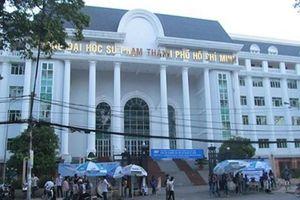 Trường ĐH Sư Phạm TPHCM công bố điểm chuẩn trúng tuyển