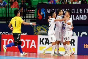 Thái Sơn Nam ngược dòng thắng đậm CLB Qatar ở giải futsal CLB châu Á