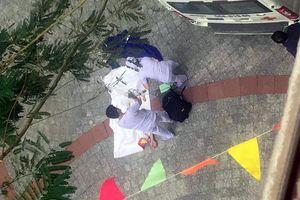 Nam thanh niên rơi từ tầng cao trong trường Đại học Công nghệ
