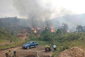 Đắk Lắk: Diễn tập phòng chống cháy rừng giữa ngày mưa lũ