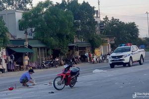 Va chạm với xe đầu kéo, người phụ nữ chết thảm trên Quốc lộ 1A