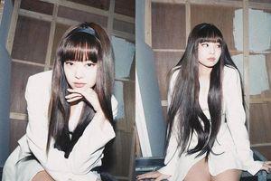 Để kiểu tóc mái 'bất biến' như Lisa, Jennie (BLACKPINK) được khen hết lời vì xinh như búp bê