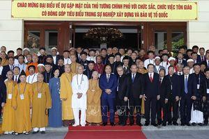 Thủ tướng: Lợi ích của từng tôn giáo gắn liền với lợi ích của quốc gia, dân tộc