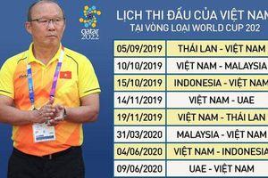 Canh bạc của thầy Park tại vòng loại World Cup và SEA Games
