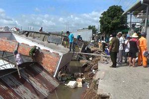 Đồng Tháp: Xảy ra 52 vụ sạt lở bờ sông, thiệt hại hơn 43 tỷ đồng