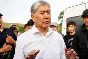 Cựu Tổng thống Kyrgyzstan đầu hàng lực lượng an ninh