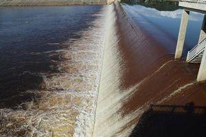 Hé lộ nguyên nhân khiến nước tại hệ thống thủy lợi Ngàn Trươi chuyển màu