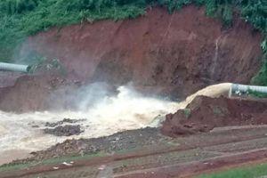 Thêm thủy điện ở Đắk Nông gặp sự cố, phải xả lũ khẩn cấp