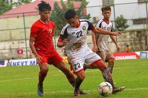 U18 Lào đè bẹp Brunei, giành 3 điểm đầu tiên