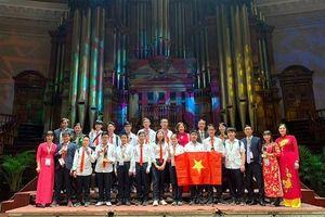 Học sinh Hà Nội đạt 4 huy chương vàng cuộc thi Toán học Trẻ Quốc tế IMC 2019