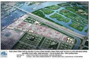 Quảng Ninh đón thêm khu công nghiệp Bạch Đằng nghìn tỷ, quy mô 176ha