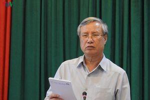 Thường trực Ban Bí Thư Trần Quốc Vượng làm việc với Tỉnh ủy Đăk Nông