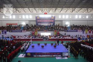 Khai mạc 'Đại hội võ cổ truyền', quy tụ 1.500 vận động viên trên toàn quốc