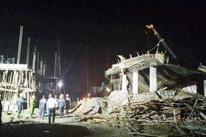 Hải Phòng: Sập giàn giáo công trình không phép, 1 người chết, 9 người bị thương