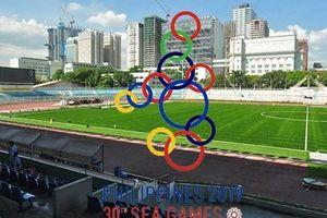 Thái Lan tiền trạm tìm hiểu mặt cỏ nhân tạo SEA Games 30