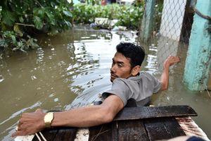 Cuộc sống nơi nước ngập tới cổ ở trung tâm Phú Quốc