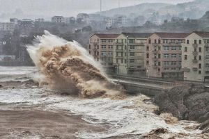 Bão Lekima càn quét Trung Quốc, 18 người chết và hơn 1 triệu người sơ tán