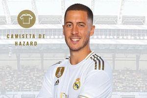 Hazard sẽ mặc áo số 7 của Raul và Ronaldo tại Real