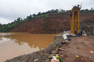 Thủy điện Đắk Kar đã khắc phục được sự cố kẹt van xả