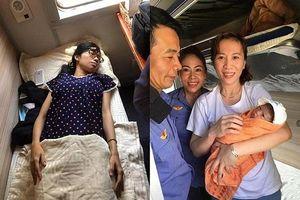 Nữ hành khách chuyển dạ, sinh con ngay trên chuyến tàu từ TP.HCM ra Hà Nội