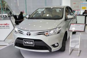Tháng 8, Toyota Vios giảm giá 'sốc' hơn 40 triệu đồng