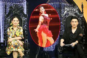 Phi Nhung, Quang Hà 'khó chịu' vì dáng đứng chống nạnh của thí sinh