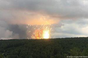 Kho đạn Siberia lại nổ do sét đánh, 10 người bị thương