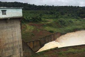 Đắk Nông: Ngừng hoạt động nhà máy thủy điện Đắk Sin 1 do sạt lở