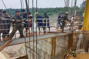 Đắk Nông: Đã khắc phục xong sự cố kẹt van xả ở thủy điện Đắk Kar