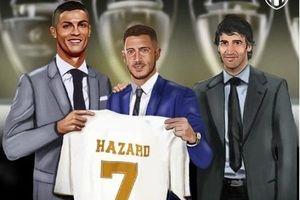 Eden Hazard mặc áo số 7 tại Real Madrid