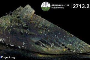 Tìm thấy tàu ngầm Mỹ mất tích trong Chiến tranh thế giới thứ hai