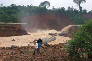 Đập thủy điện Đắk Kar có nguy cơ vỡ nếu mưa lớn, kẹt van xả
