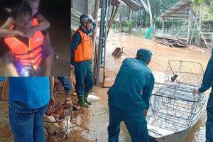 Giải cứu thành công 6 người mắc kẹt trong lũ ở Đồng Nai