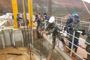 Đẩy nhanh công tác khắc phục sự cố tại công trình thủy điện Đắk Kar