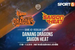 Chung kết giành vé dự Playoff, Danang Dragons quyết chiến sinh tử cùng Saigon Heat