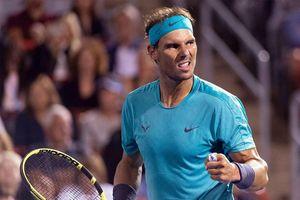 Rogers Cup: Nadal quyết đấu 'tay súng trẻ người Nga' Medvedev ở chung kết