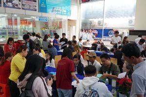 Nhiều trường mở cửa ngày cuối tuần đón thí sinh làm thủ tục nhập học