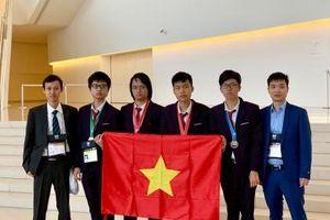 Đội tuyển Việt Nam đứng thứ 4 trong kỳ thi Olympic Tin học quốc tế 2019