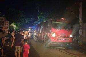TP.HCM: Cháy tại công ty may mặc ở Hóc Môn