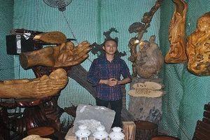 'Phù thủy' gỗ lũa Tây Nguyên