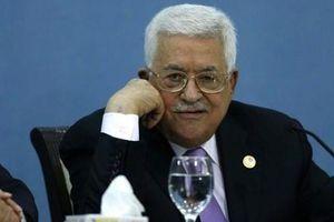 Tổng thống Palestine tới thăm một trại tị nạn ở khu vực Bờ Tây
