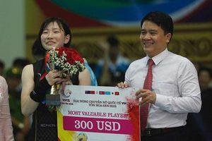 Những danh hiệu xuất sắc của giải bóng chuyền VTV Cup Tôn Hoa Sen 2019