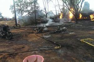 60 người chết khi 'hôi' dầu từ xe bồn bị lật ở Tanzania