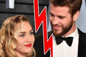 Vừa tuyên bố ly hôn, Miley Cyrus đã có hành động thân mật gây sốc