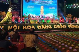 30.000 hoa đăng được thả nhân dịp kỷ niệm 5 năm Đại lễ Vu Lan Cát Bà