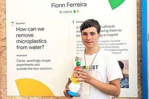 Khám phá phương pháp lọc hạt vi nhựa ra khỏi nước của chàng trai 18 tuổi